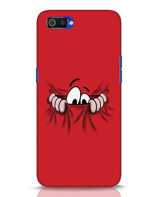 Shop Peek Out Realme C2 Mobile Cover-Front