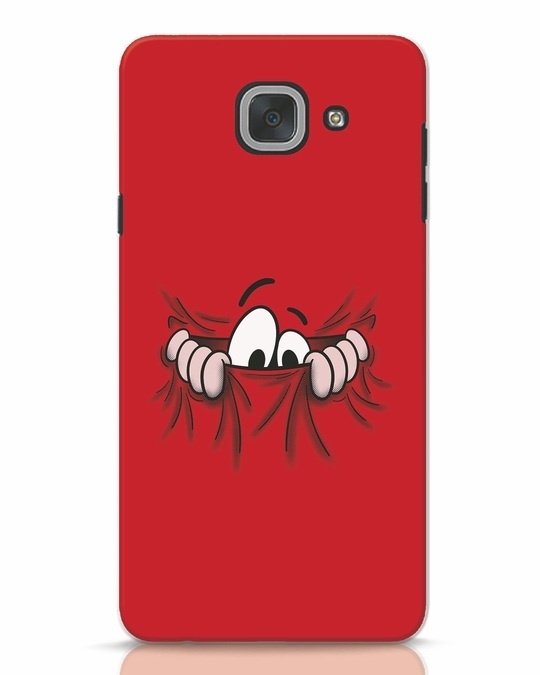Shop Peek Out Samsung Galaxy J7 Max Mobile Cover-Front