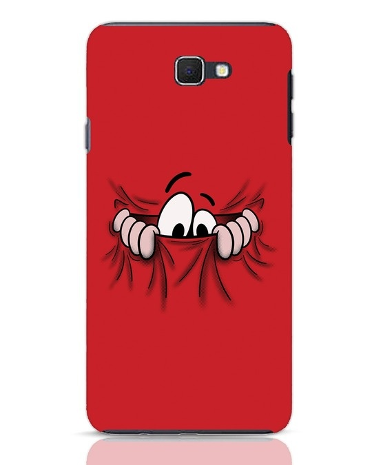 Shop Peek Out Samsung Galaxy J7 Prime Mobile Cover-Front