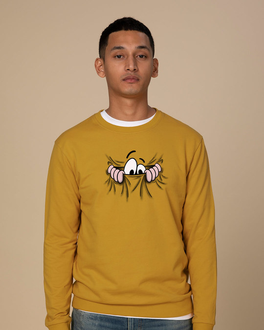 Shop Peek Out Sweatshirt-Front