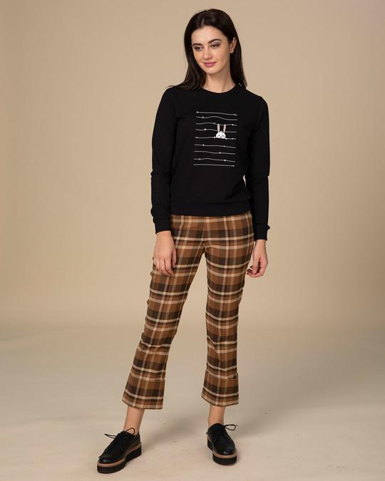 Shop Peeking Rabit  Sweatshirt