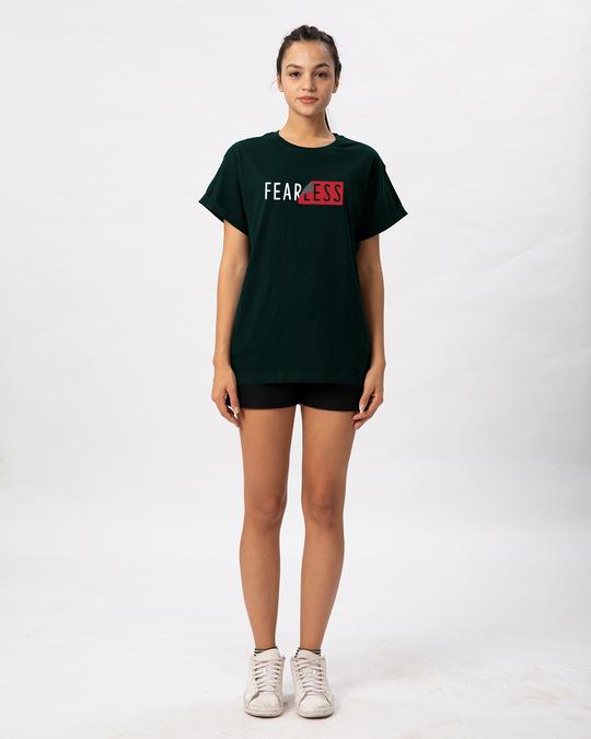 Shop Peel Off Fearless Boyfriend T-Shirt