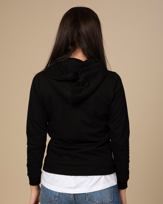 Shop Peel Off Fearless Fleece Hoodies-Design