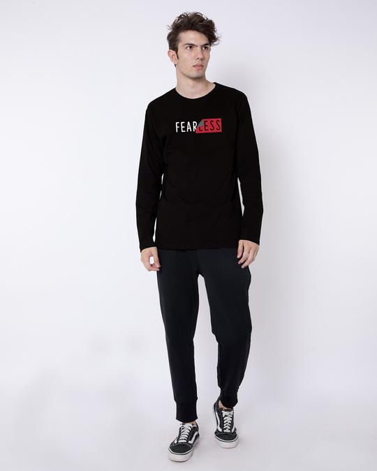 Shop Peel Off Fearless Full Sleeve T-Shirt-Full