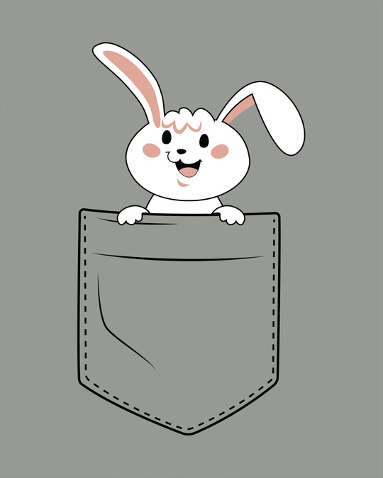 Shop Peeping Bunny Boyfriend T-Shirt