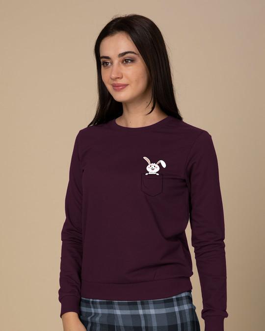 Shop Peeping Bunny Sweatshirt-Design