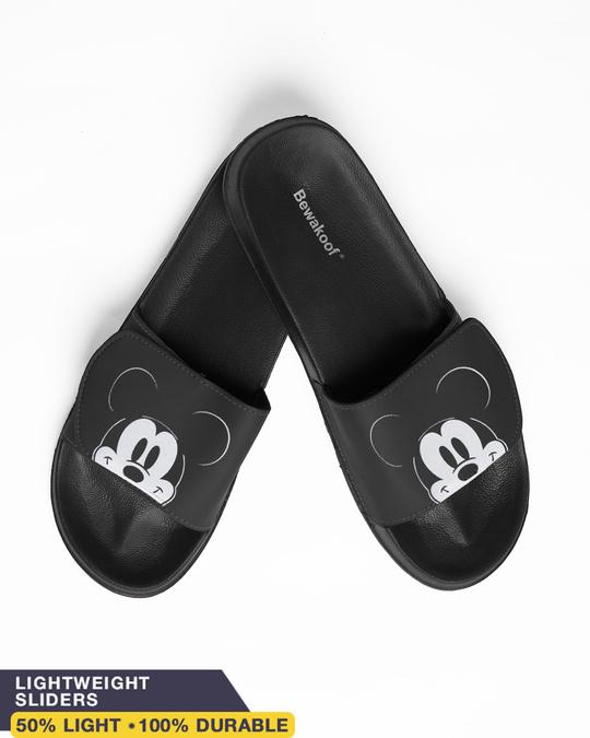 Shop Peeping Mickey Lightweight Adjustable Strap Men Slider (DL)-Front
