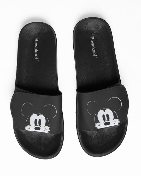Shop Peeping Mickey Lightweight Adjustable Strap Men Slider (DL)-Back
