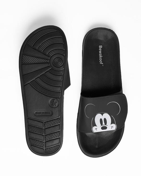 Shop Peeping Mickey Lightweight Adjustable Strap Men Slider (DL)-Full