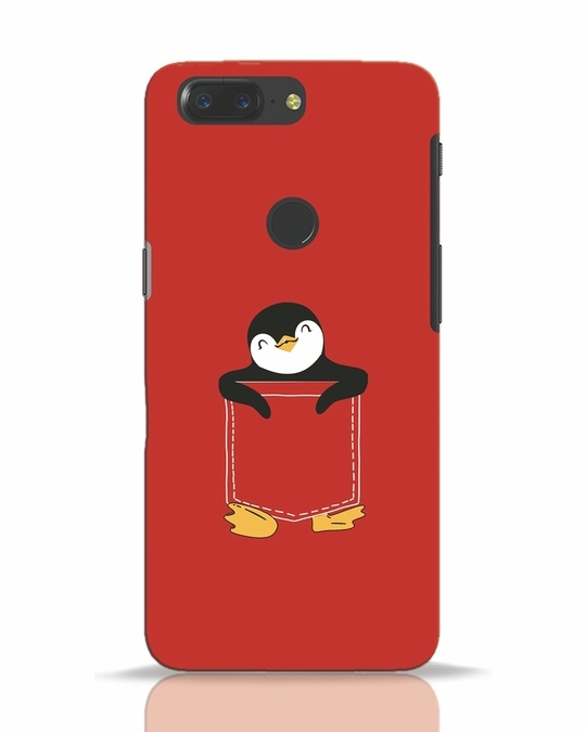 Shop Penguin Hug OnePlus 5T Mobile Cover-Front