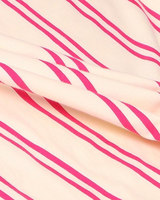 Shop Peppy Pink Stripe Pocket Dress-Back