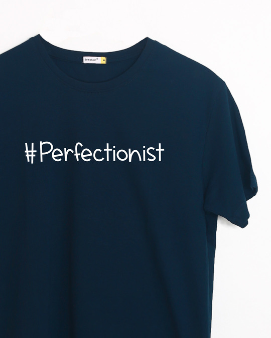 Shop Perfectionist Half Sleeve T-Shirt-Front