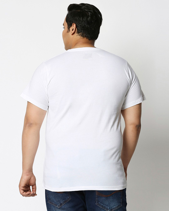 Shop Personality Dekh Half Sleeve Plus Size T-Shirt-Design