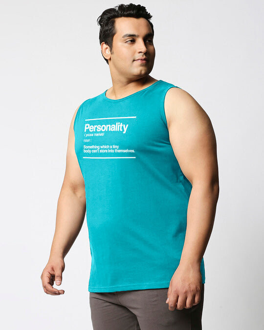 Shop Personality Dictionary Vest-Back