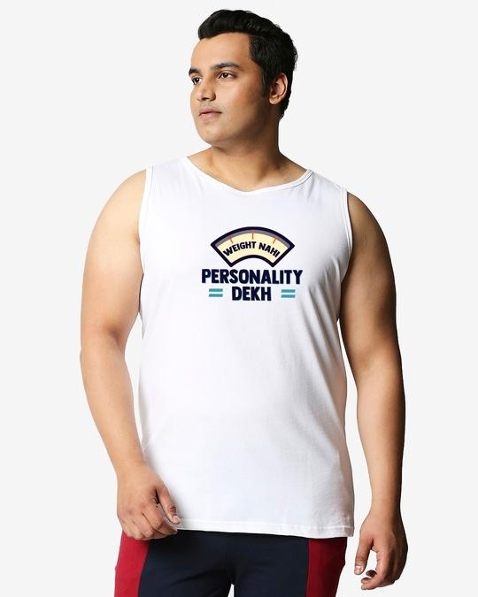 Shop Personality Plus Size Vest-Back