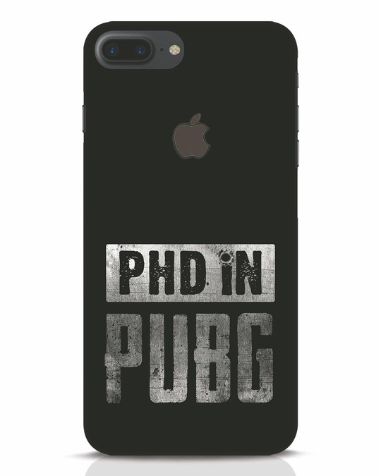 Shop Phd In Pubg iPhone 7 Plus Logo Cut Mobile Cover-Front