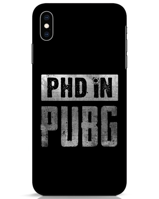 Shop Phd In Pubg iPhone XS Max Mobile Cover-Front