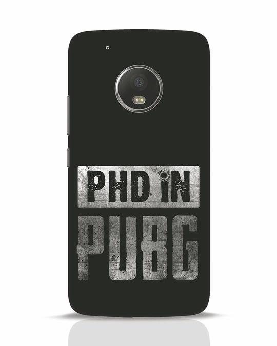 Shop Phd In Pubg Moto G5 Plus Mobile Cover-Front