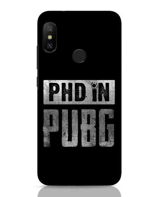 Shop Phd In Pubg Xiaomi Redmi Note 6 Pro Mobile Cover-Front