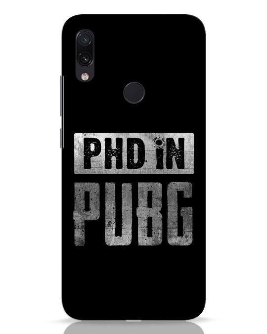Shop Phd In Pubg Xiaomi Redmi Note 7 Mobile Cover-Front