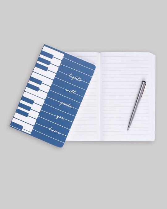 Shop Piano Lights Notebook-Design