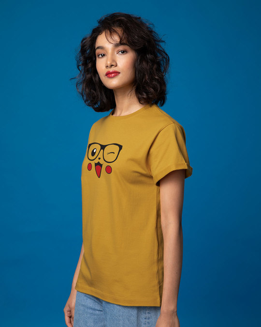 Shop Pika-geek Boyfriend T-Shirt-Back
