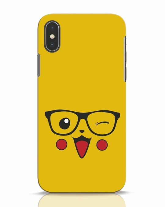 Shop Pika iPhone X Mobile Cover-Front