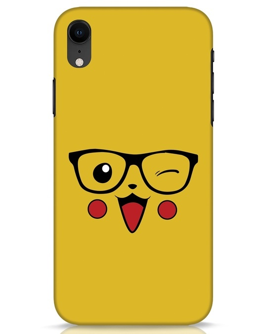 Shop Pika iPhone XR Mobile Cover-Front