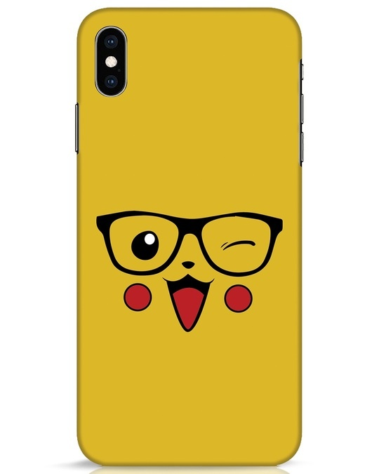 Shop Pika iPhone XS Max Mobile Cover-Front