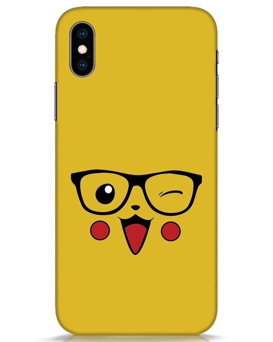 Shop Pika iPhone XS Mobile Cover-Front