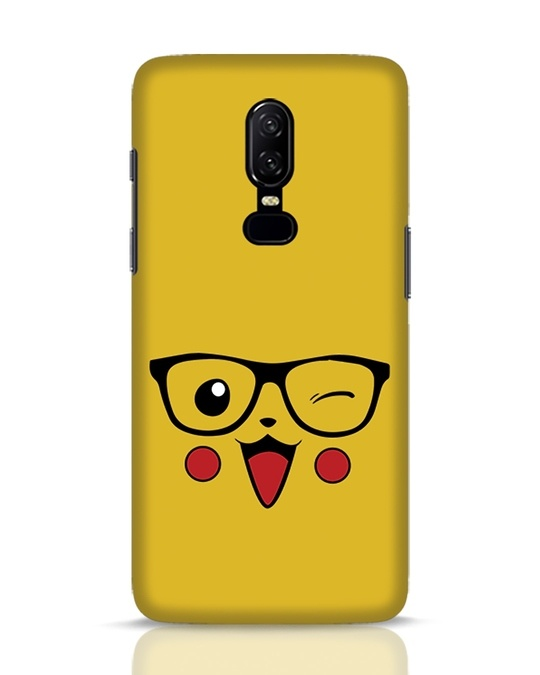 Shop Pika OnePlus 6 Mobile Cover-Front