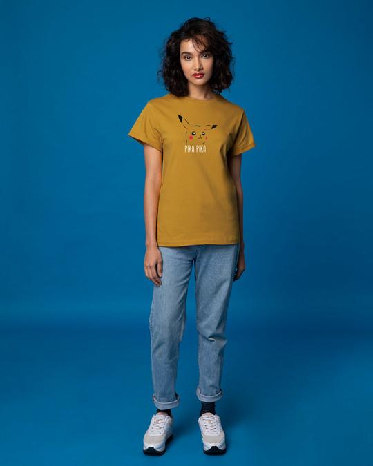 Shop Pika Pika Boyfriend T-Shirt