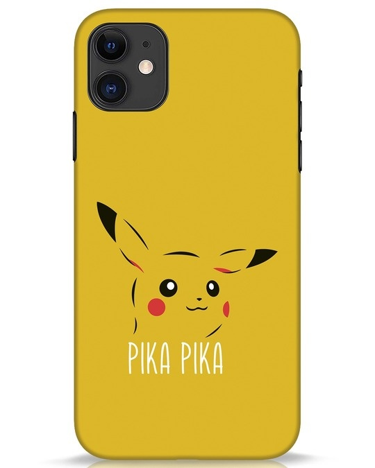 Shop Pika Pika iPhone 11 Mobile Cover-Front