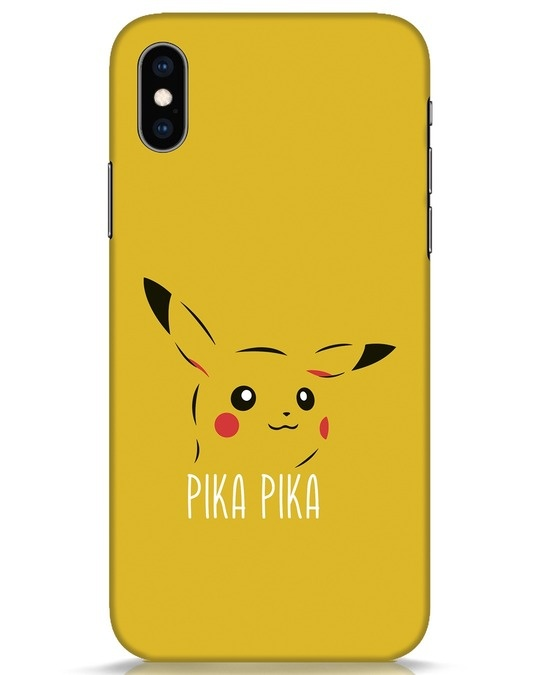 Shop Pika Pika iPhone XS Mobile Cover-Front