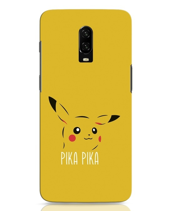 Shop Pika Pika OnePlus 6T Mobile Cover-Front