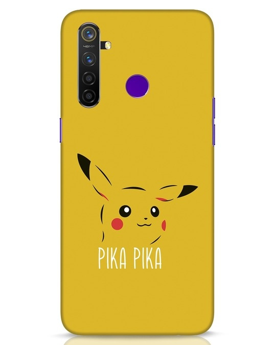 Shop Pika Pika Realme 5 Pro Mobile Cover-Front