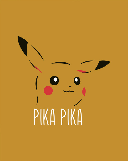 Shop Pika Pika Round Neck 3/4th Sleeve T-Shirt