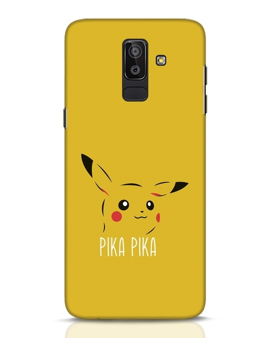 Shop Pika Pika Samsung Galaxy J8 Mobile Cover-Front