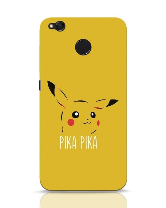 Shop Pika Pika Xiaomi Redmi 4 Mobile Cover-Front