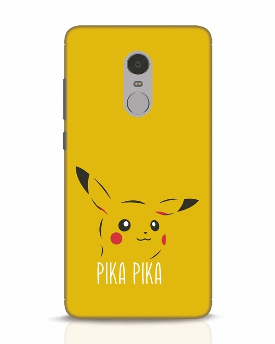 Shop Pika Pika Xiaomi Redmi Note 4 Mobile Cover-Front
