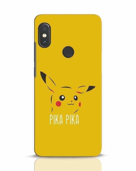 Shop Pika Pika Xiaomi Redmi Note 5 Pro Mobile Cover-Front
