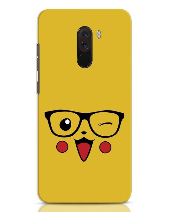Shop Pika Xiaomi POCO F1 Mobile Cover-Front