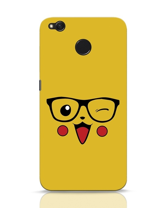 Shop Pika Xiaomi Redmi 4 Mobile Cover-Front