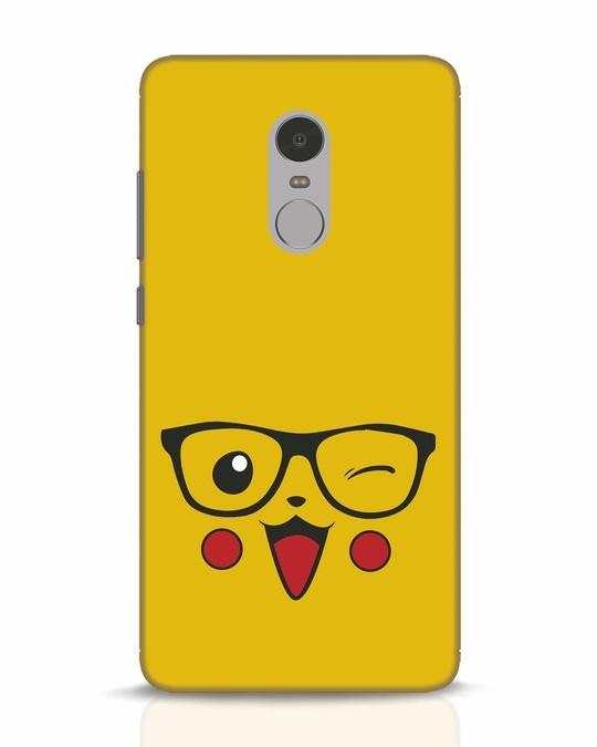 Shop Pika Xiaomi Redmi Note 4 Mobile Cover-Front