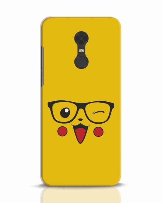 Shop Pika Xiaomi Redmi Note 5 Mobile Cover-Front