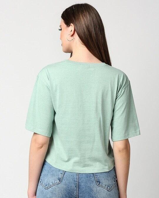 Shop Women's Melange Pin Tuck Top-Full