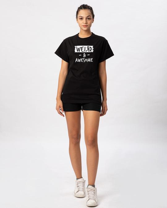 Shop Pin Weird Boyfriend T-Shirt