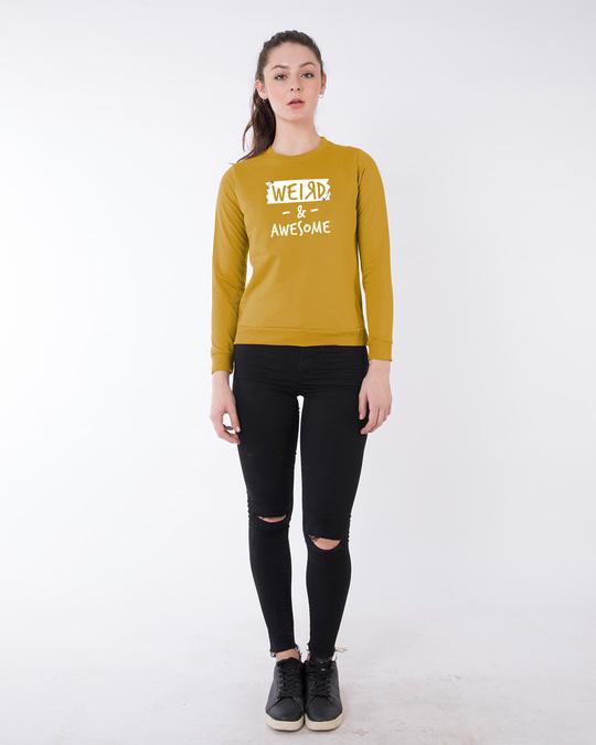 Shop Pin Weird Sweatshirt-Full