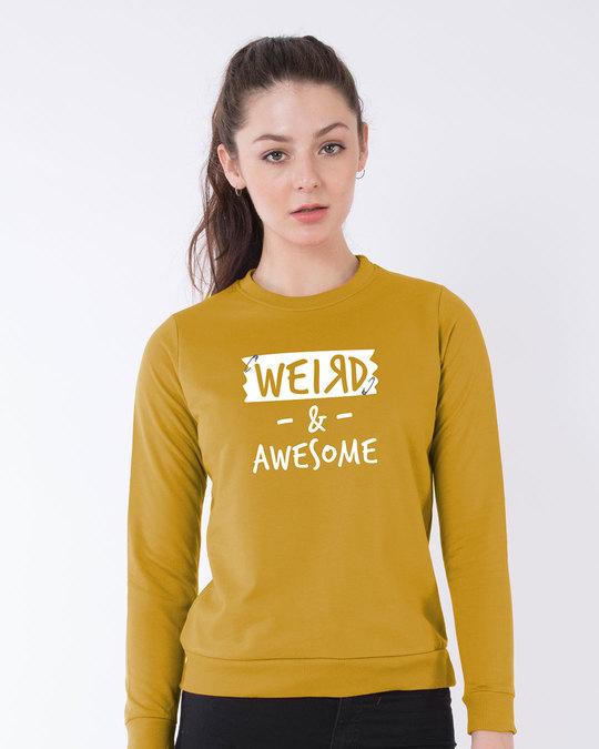 Shop Pin Weird Sweatshirt-Front