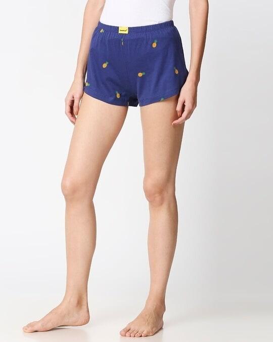 Shop Pineapple AOP Cotton Boxer-Design